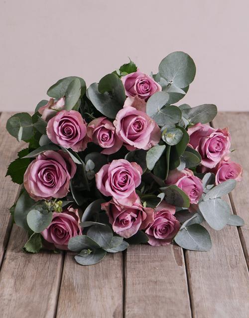 roses: Light Purple Bouquet!