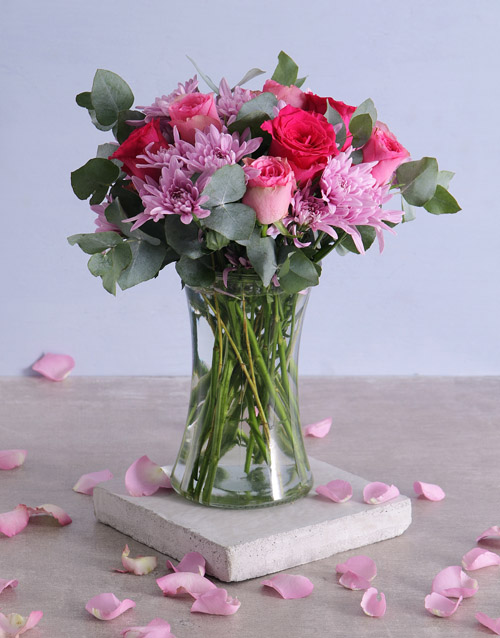 mothers-day: A Ray Of Pink Sunshine In A Vase!