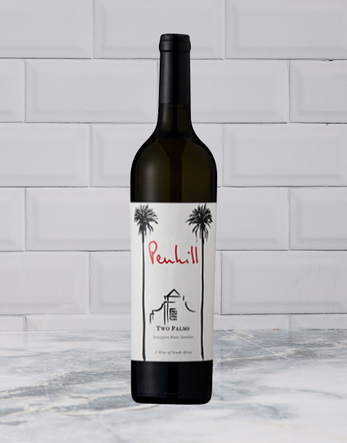 wine: CONRADIE&PENHILL PENHILL TWO PALMS WHITE 750ML X1!