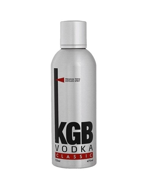 wine: KGB VODKA 750ML X1!
