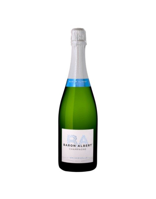 wine: BARON ALBERT BRUT UNIVERSELLE 375ML X1!