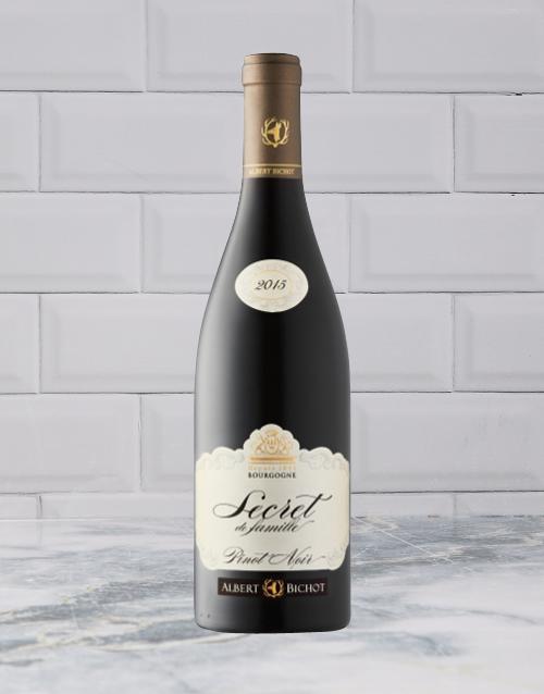 wine: A BICHOT SECRETS FAM PINOT NOIR 750ML X1!