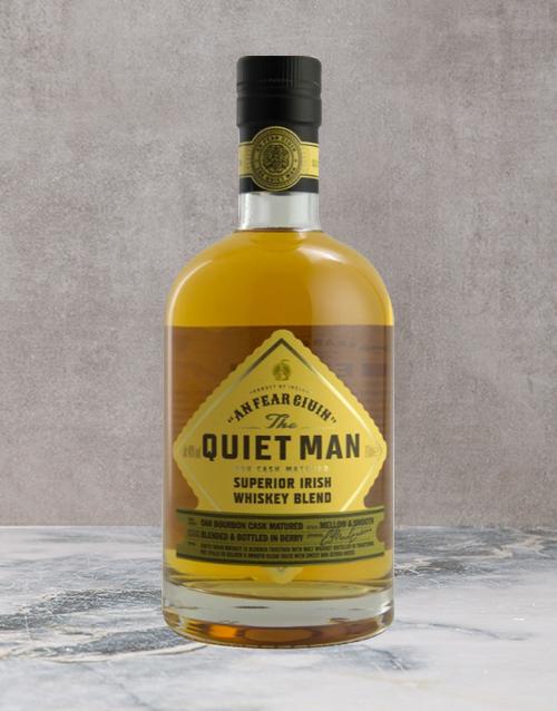 spirits: THE QUIET MAN SUPERIOR BLEND 750ML X1!