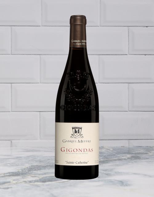 wine: GABRIEL MEFFRE GIGONDAS 750ML X1!