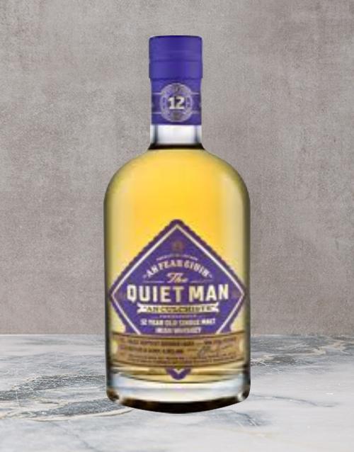 spirits: THE QUIET MAN 12YR SINGLE MALT 750ML X1!