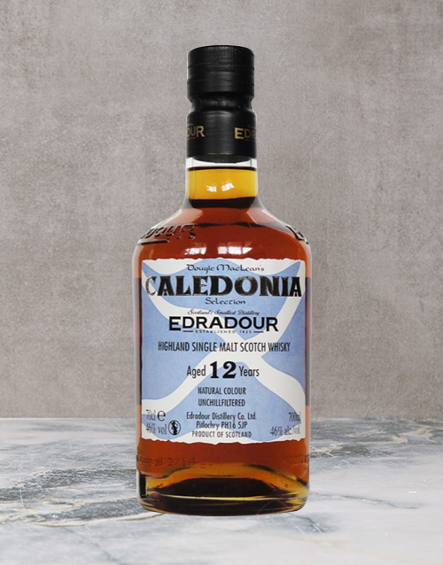 spirits: EDRADOUR CALEDONIA 12YR 750ML X1!