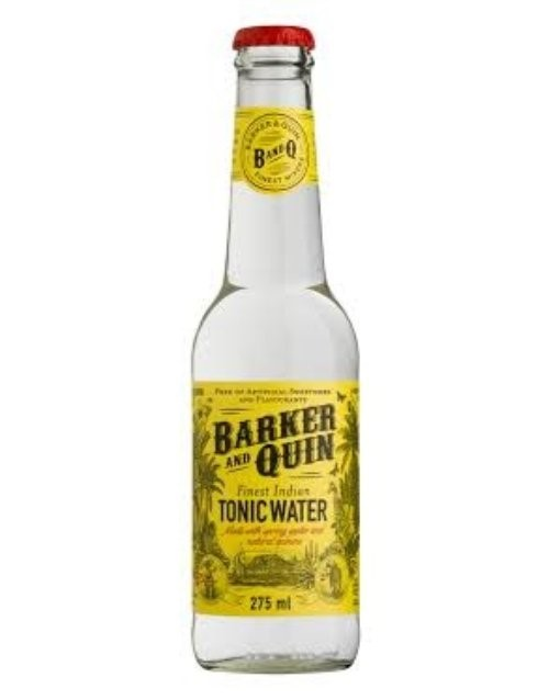 mixers: BARKER AND QUIN INDIAN TONIC 200ML!