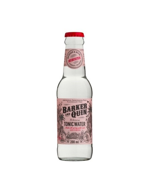 mixers: BARKER AND QUIN HIBISCUS TONIC 200ML!