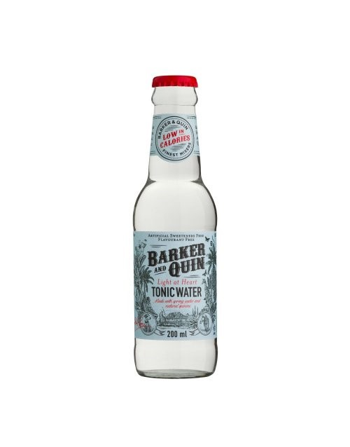 mixers: BARKER AND QUIN LIGHT AT HEART 200ML!
