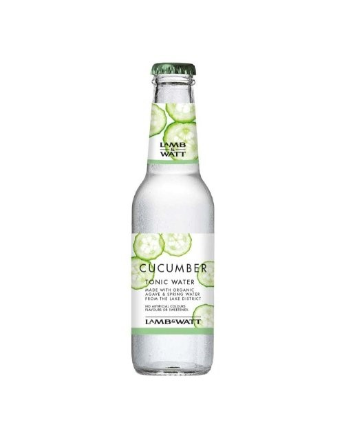 mixers: LAMB & WATT TONIC WATER CUCUMBER 200ML!