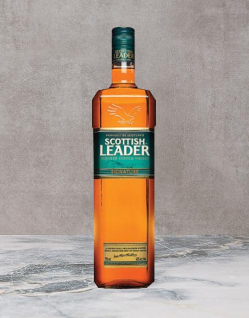 spirits: Scottish Leader Signature 750Ml!