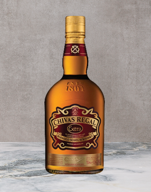 spirits: Chivas Regal !