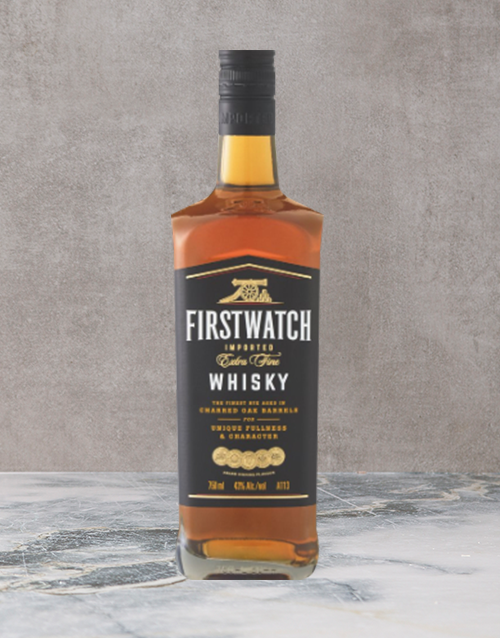 spirits: First Watch Whisky 750Ml!