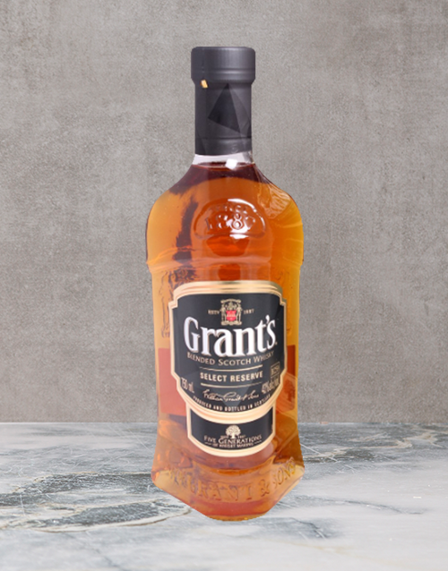 spirits: Grants Select Reserve 750Ml!