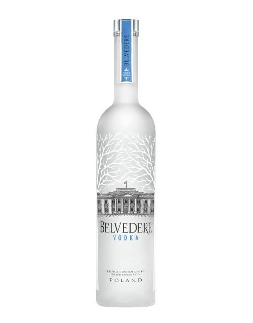 spirits: BELVEDERE PURE NIGHT SABRE 750ML !