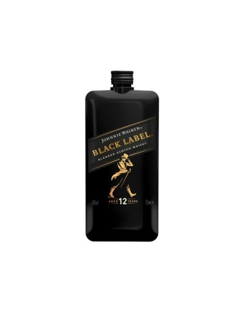 spirits: Johnnie Walker Black Label Pocket Scotch 200Ml!