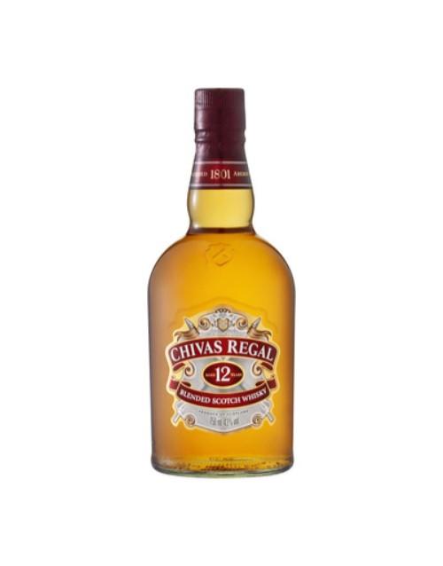 spirits: CHIVAS REGAL 12YR 750ML !