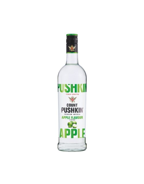 spirits: COUNT PUSHKIN APPLE 750ML !