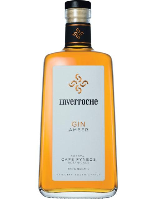 spirits: INVERROCHE GIN AMBER 750ML !