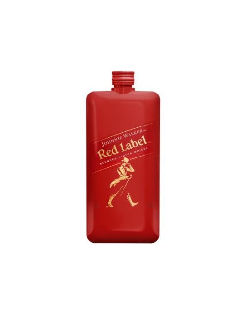 spirits: JOHNNIE WALKER RED LABEL POCKET SCOTCH 200ML !