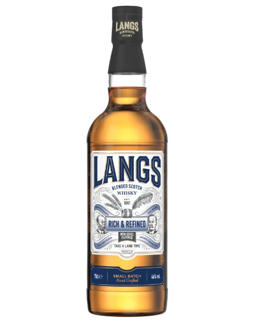 spirits: LANGS RICH & REFINED WHISKY 750ML !