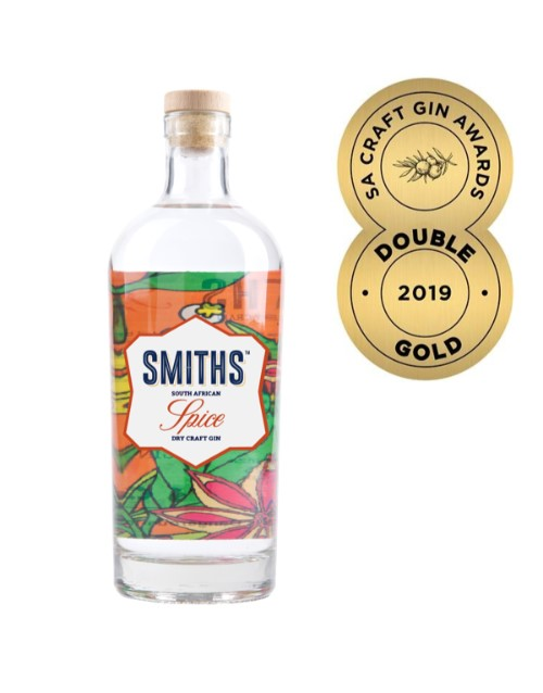 spirits: SMITHS SOUTH AFRICAN SPICE DRY CRAFT GIN 750ML !