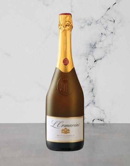 wine: Lormarins Brut 750Ml!