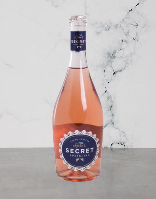 wine: Spier Secret Sparkling 750Ml!