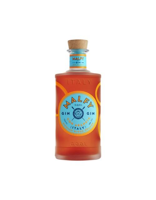 spirits: MALFY CON ARANCIA ITALIAN GIN 50ML X1!