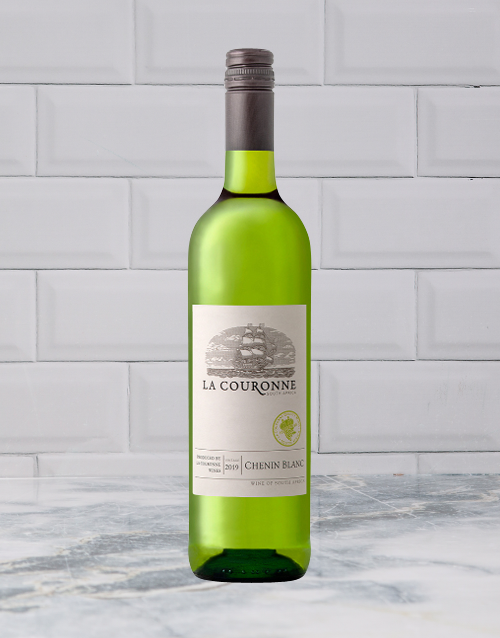 wine: LA COURONE UPPER DECK CHENIN 750ML X1!