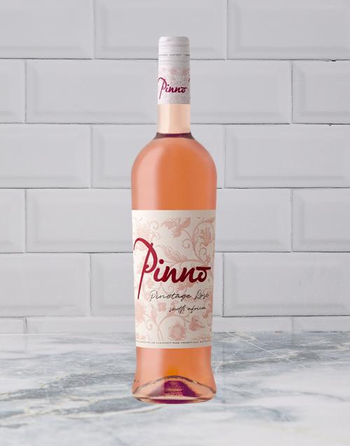 wine: FRANSHOEK PINNO PINOTAGE ROSE 750ML X1!