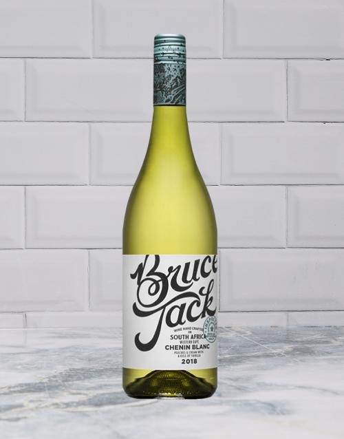 wine: BRUCE JACK CHENIN BLANC 750ML X1!