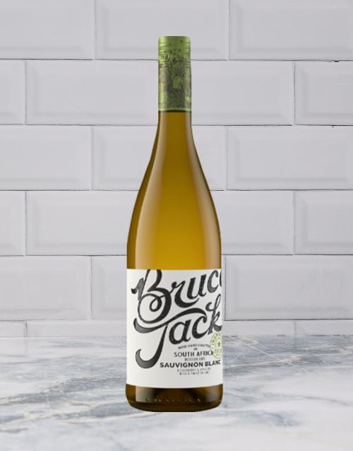 wine: BRUCE JACK SAUVIGNON BLANC 750ML X1!