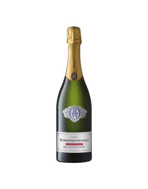 wine: ROBERTSON NON ALC DRY SPARKLING WHITE 750ML X1!