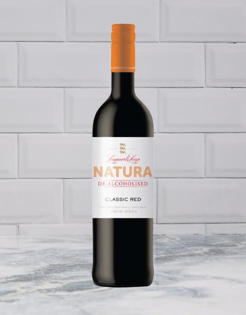 wine: LEOPARDS LEAP NATURA DEALC CLASSIC RED 750ML X1!