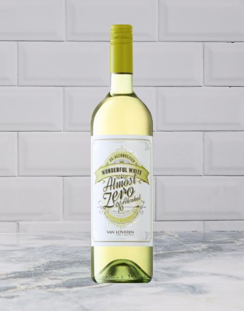wine: ALMOST ZERO WONDERFUL WHITE 750ML X1!