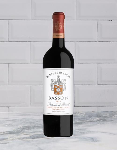 wine: ORMONDE BASSON PROPRIETORS BLEND 750ML X1!