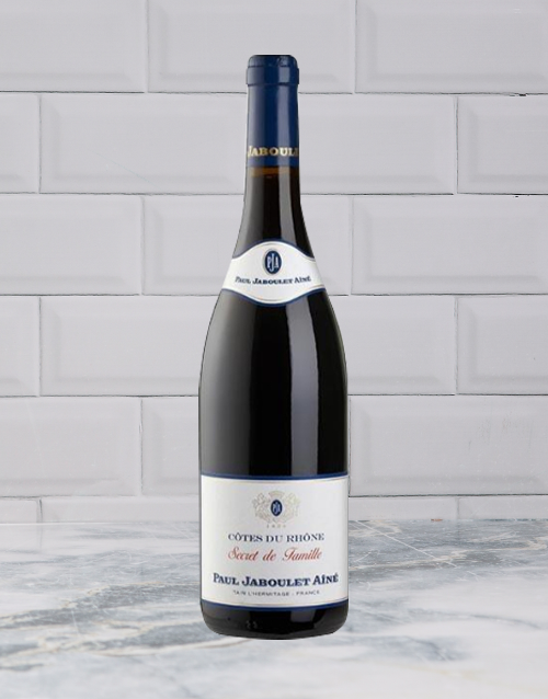 wine: P JABOULET A SECRETS FAM SYRAH 750ML X1!