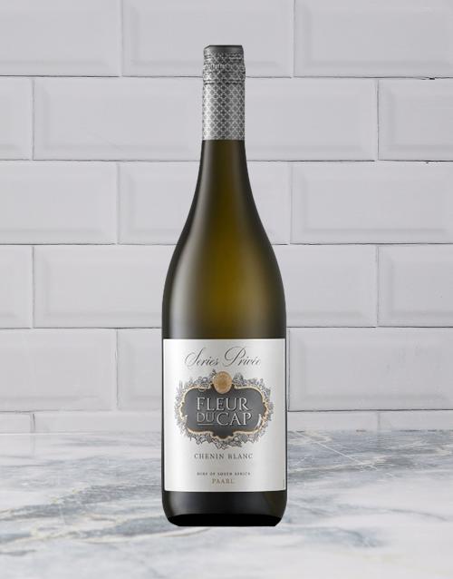 wine: FLEUR DU CAP SERIES PRIVEE CHENIN BLANC 750ML X1!