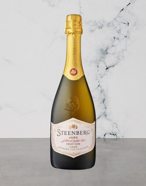 wine: Steenberg 1682 Brut Pinot Noir 750Ml!