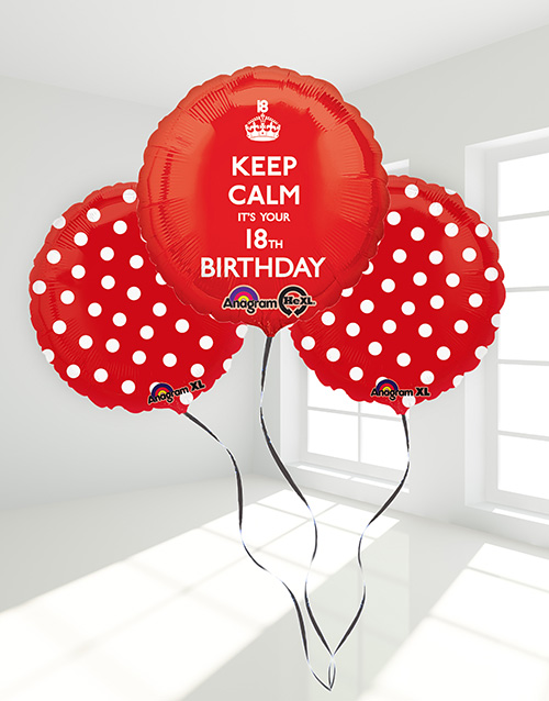 prices: 18th Birthday Balloon Bouquet!