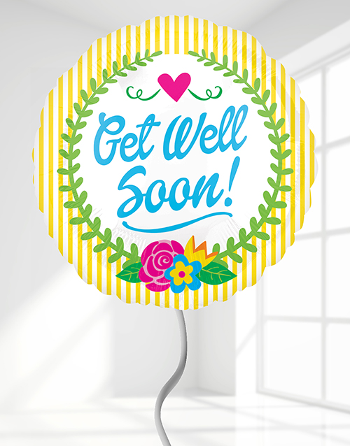prices: Get Well Soon Helium Balloon!