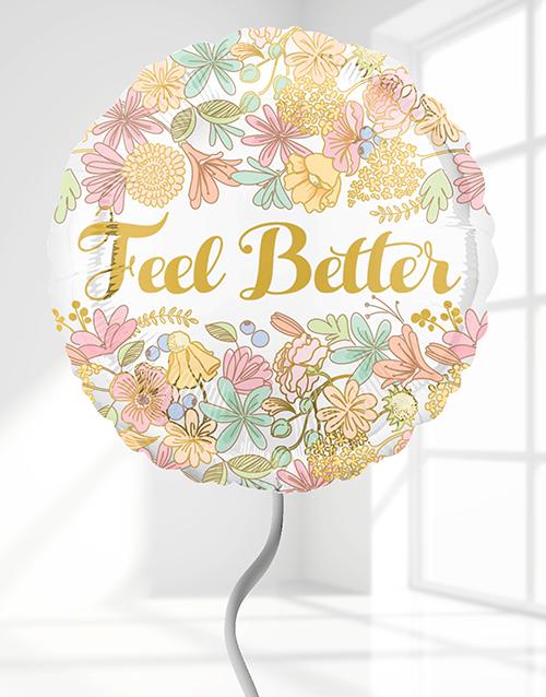balloon: Feel Better Helium Balloon!