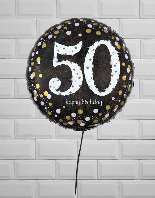 birthday: Sparkling 50th Birthday Jumbo!