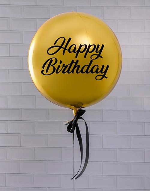 balloon: Golden Celebrations Balloon Gift!