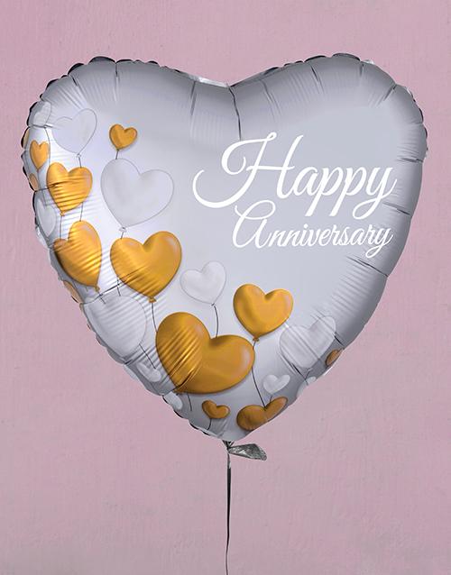 balloon: Happy Anniversary Balloon Gift!