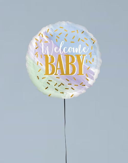 balloon: Welcome Baby Balloon Gift!