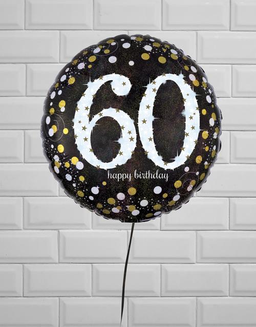 balloon: Sensational Sixtieth Birthday Balloon!