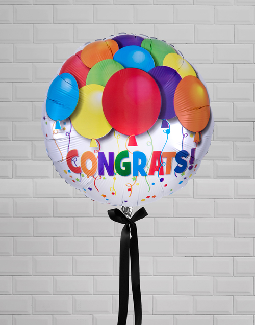balloon: Congratulations Celebrations Balloon Gift!