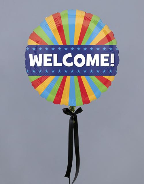 balloon: Warmest Welcome Balloon Gift!